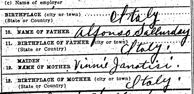 Joseph Sallurday Death Certificate_0004