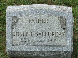 Joseph Sallurday Headstone